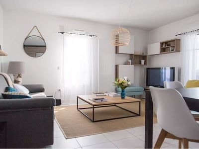 Photo for Bidart │Beautiful flat · 4pax · Terrace · 10mn from the beach · Parking