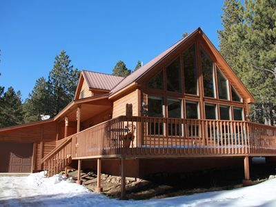 Photo for Centrally Located Luxuriously Comfortable 3 BR Cabin