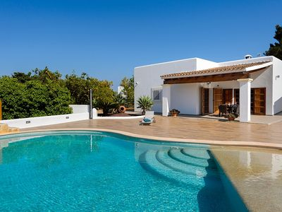 Photo for Villa Trudy - Ibizan Traditional Villa with Private Pool ! - Free WiFi - Two Bedroom Villa, Sleeps 4