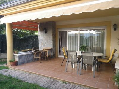 Photo for House with garden, barbecue and wifi 1500m from the beach of Cambrils Vilafortuny