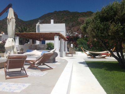 Photo for Exclusive villa in Panarea with private access to the sea