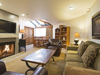 Photo for Walk to lifts! One bedroom ski condo