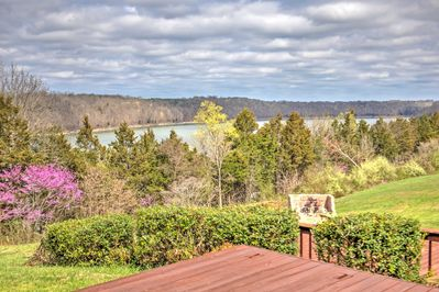 Soak up spectacular views of Monticello when you stay at this beautiful house!