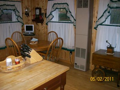Kitchen Table and Island