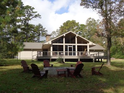 Photo for Upland Hill Lodge - East Texas lake views