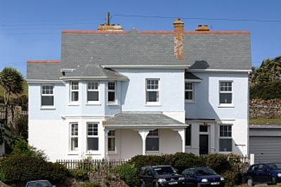 Photo for Pendragon House Overlooks Crooklets Beach in Bude with parking for 5 cars.