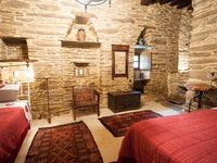 A lovely rustic property in a quiet location with fantastic views of the valley