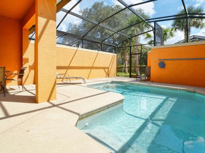 Photo for PROFESSIONALLY DECORATED, GATED RESORT COMMUNITY, FREE WIFI, PRIVATE SPLASH POOL, BBQ!!