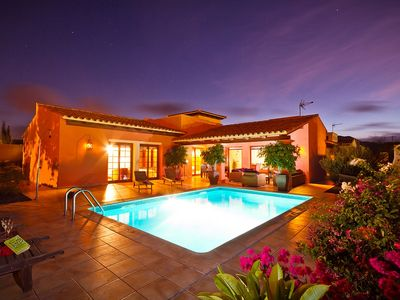 Photo for Villa With Heated Pool, Roof Terrace with GYM, English & German TV, FREE WiFi