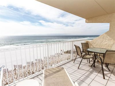 Photo for Updated, Bright Condo w/ Beach Setup Included, Minutes From Entertainment
