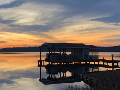 Photo for Wake & Lake: Your Relaxing Lakefront Retreat on the Private Side of Lake Anna