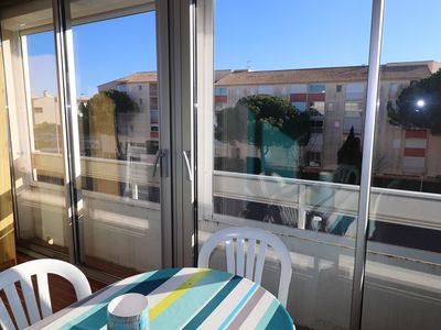 Photo for 2 rooms 2 ** parking near beach and shops-loggia GRAU DU ROI
