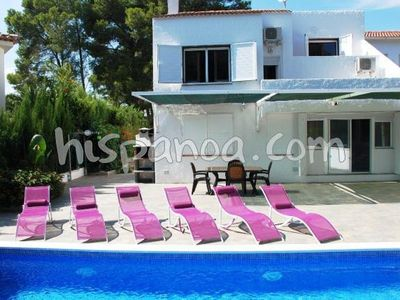 Photo for Villa with private pool for rent in Ametlla de Mar catalan 80m from the sea