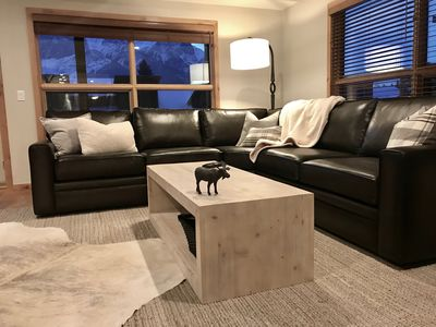 Photo for BRAND NEW Luxury 3 bed 2 bath condo - Downtown Canmore