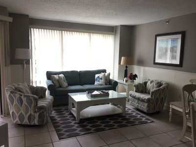 Photo for 2117 Villamare, Bright, Beautiful Condo In Beachfront Complex