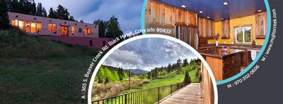 Photo for Spacious, bold home that sleeps 14-18 near ski slopes, gambling and hot springs!