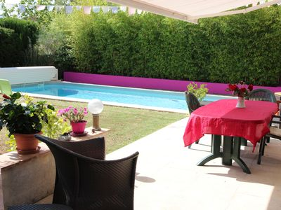 Photo for NICE HOUSE WITH GARDEN AND PRIVATE POOL TOULON IS CLOSE TO THE SEA