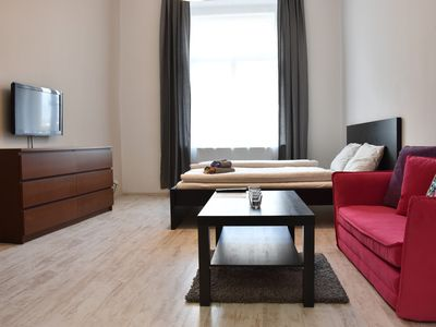 Photo for Modern apartment Letná - Few Minutes To Old Town