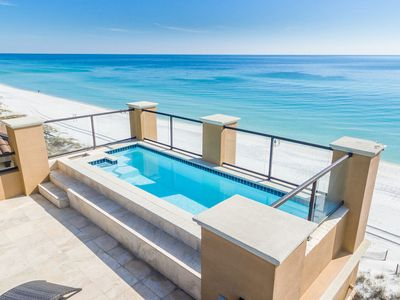 Photo for Amazing Beachfront Home in Destiny by the Sea w/ Awesome Rooftop Pool!