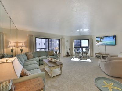 Photo for Spectacular beach and bay views from beautifully appointed, luxurious condo