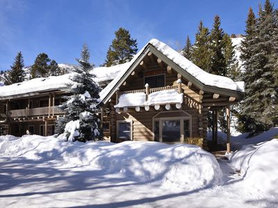 Photo for Log cabin on the river, free shuttle route, spa access book now for best prices