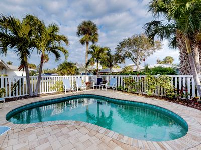 Photo for Family-friendly seaside home with private pool - close to beaches & attractions