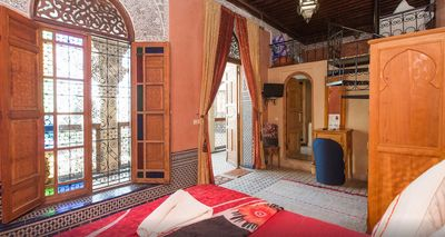 Photo for Junior Suite at Riad Layalina Fez: Pool, 360° View & Free Secure Parking at Foot
