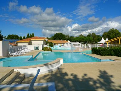Photo for MOBILHOME 3ch Camping 4 * CLIMATISE Lake Sanguinet Biscarrosse Arcachon Dune Pyla