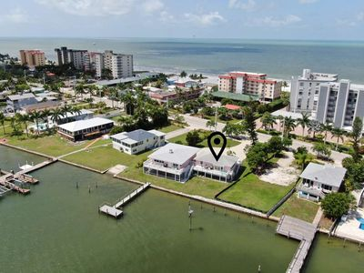 Photo for Charming Bay Side Apartment! Breathtaking Views! Beach Access, Free Boat Dock, Parking & WIFI!