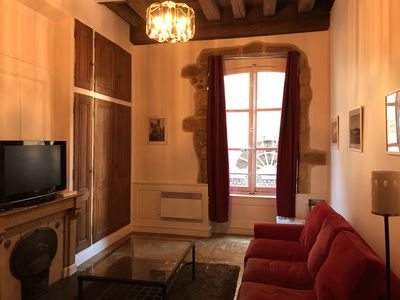 Photo for Nice apartment in the heart of Old Lyon