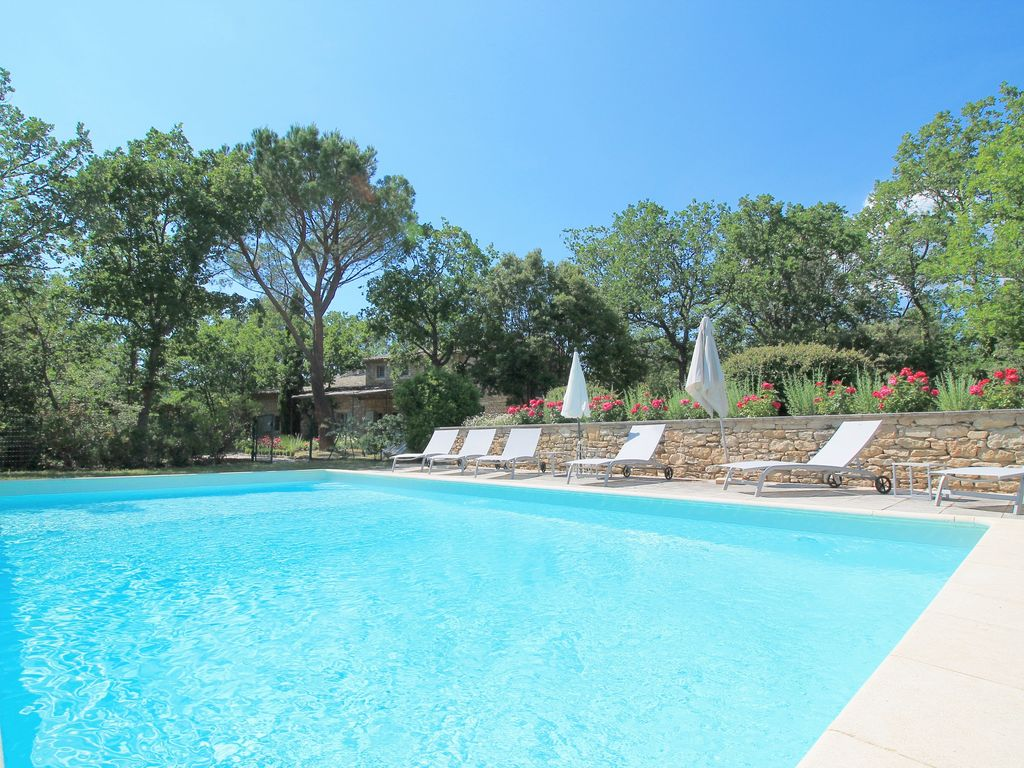 Provencal Farmhouse In Gordes With Pool A Quiet Place For Relaxing Holiday
