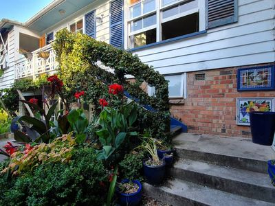 Photo for Rustic 2BR near Mission Bay with Garden Views