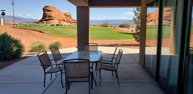 Photo for condo with beautiful scenic golf course view