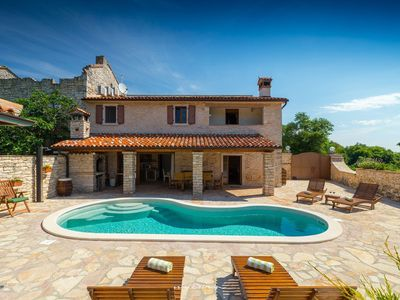 Photo for Old restored eco-friendly villa with private pool