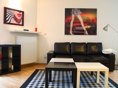 Photo for Stylish two bedroom apartment in the center of Krakow. Free garage.