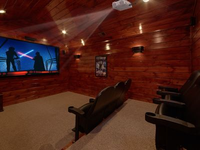 Photo for Private theater room with surround sound!