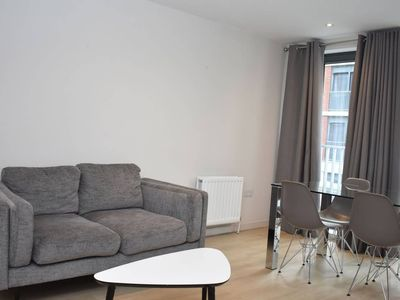 Photo for Bright 1BR apartment by the Union Canal