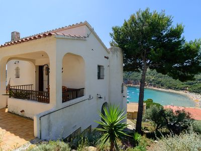 Photo for Costabravaforrent Palas Atenea is a house for 6 with views of Cala Montgó