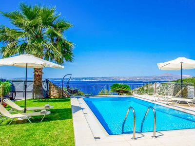 Photo for Villa Minoas - This villa includes A/C, sea views & WIFI