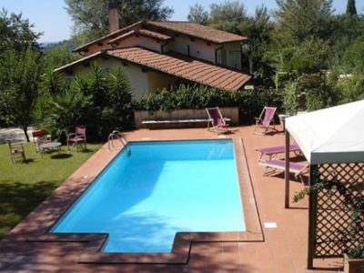 Photo for Villa on the border of Lazio/Umbria with private pool, garden and beautiful view