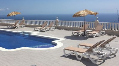Photo for Stunning Private Villa -12m Pool with Jacuzzi, Amazing Views