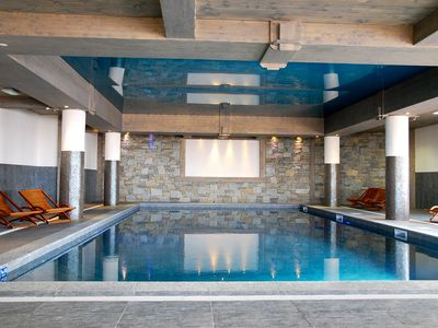Photo for ARC 1800: Superb T3 view Mont Blanc on skis + Pool + Garage - CLASS 4 *