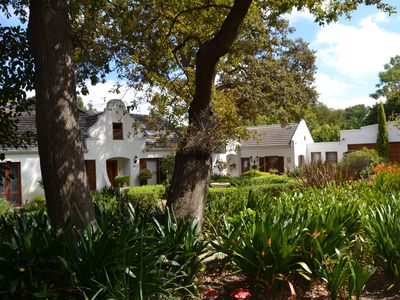 Photo for Lovely Family Home under Oaks in the Cape Winelands