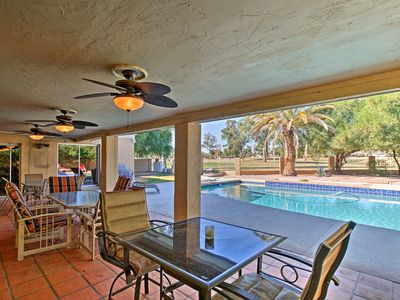 Photo for Scottsdale Home on Golf Course w/Pool & Fire Pit!