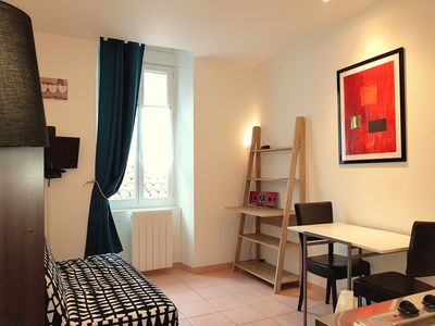 Photo for Residadigne - Ideal city center - quiet furnished studio 102