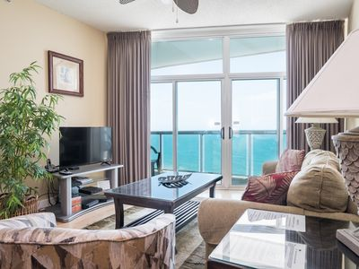 Photo for Fabulous ocean and Crescent Beach view from the balcony. | Crescent Keyes - PH18