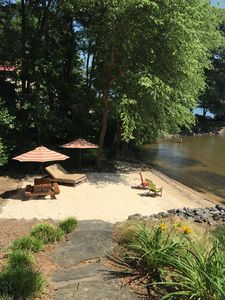 Photo for Sandy Beach Retreat on Popular Lake Norman Cove!!