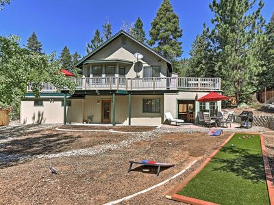 Photo for Lake Tahoe Area House w/ Hot Tub & Outdoor Games!