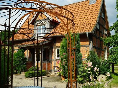 Photo for **** Holiday house in the idyllic cottage garden Hoyerhagen