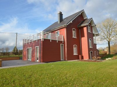 Photo for Top Scandinavian house; pool table,sauna, very close to the High Fens